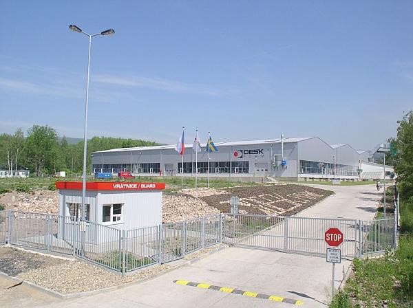 DESK-FORM a.s. - Výrobní závod v areálu Dukla v Újezdečku - po rekonstrukci 02