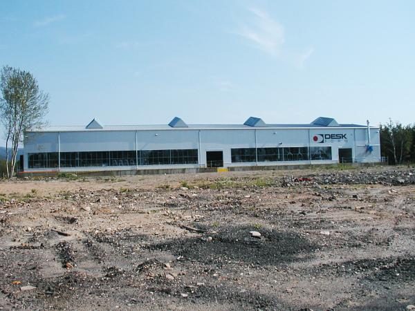 DESK-FORM a.s. - Výrobní závod v areálu Dukla v Újezdečku - před rekonstrukcí 01