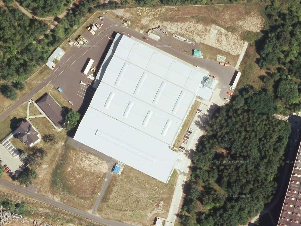 DESK-FORM a.s., letecký snímek